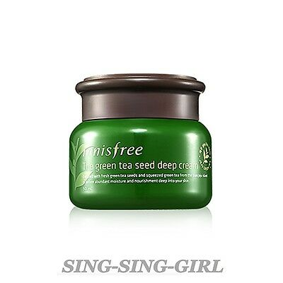 Innisfree The Green Tea Seed Deep Cream 50ml sing-sing-girl