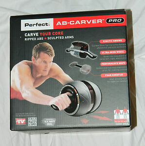 NEW-ORIGINAL-PERFECT-FITNESS-AB-CARVER-PRO-WORKOUT-WHEEL