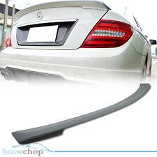 Mercedes Benz W204 4DR Sedan DTO Type Trunk Boot Rear Spoiler Wing 08 13