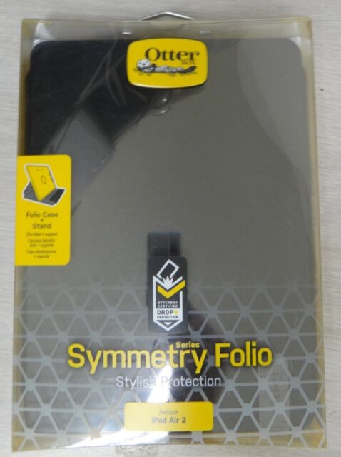 Otterbox Symmetry Folio Case with Stand For Ipad Air 2 77-51118 NEW