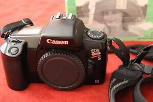 canon eos rebel s ii 35mm slr film camera body and manual as is ebay rh ebay com Canon EOS Digital Rebel Original Canon EOS Rebel