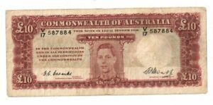 1949-Australia-10-Pounds-V-17-587884-Coombs-Watt-Fine