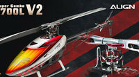 Align Trex 700 L V2 Dominator 700 Sized Electric Helicopter