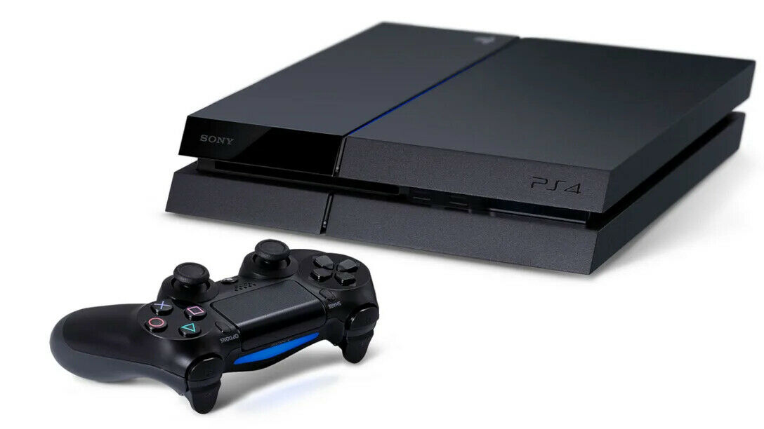 PlayStation 4 500GB Video Game Console With Controller +HDMI Power Lead