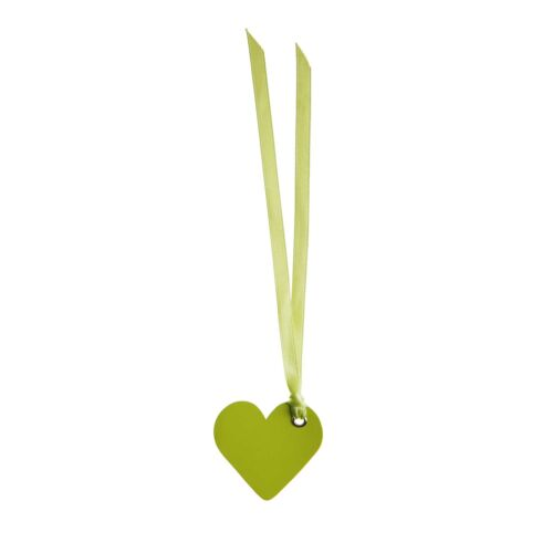 5 cm grün Dekoration Tischkarte Gastgeschenk Namenskarte Herz Satinband 12 Stk