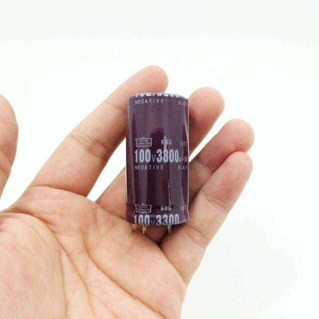 50pcs 100uF 100V 10x17mm Radial Electrolytic Capacitors US Seller CAP0014-50