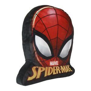 Marvel-Spiderman-3D-Kissen-Kuschelkissen-Kopfkissen-Dekokissen