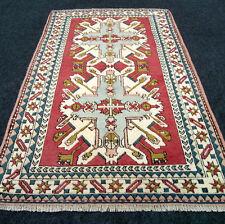 Türkischer Orient Teppich 210 x 127 cm Milas Melas Adler Muster Kaukasus Carpet