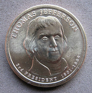 US    CIRCULATED     PRESIDENTIAL   DOLLAR   2007  THOMAS JEFFERSON  D mint - NOTTINGHAM, Nottinghamshire, United Kingdom - US    CIRCULATED     PRESIDENTIAL   DOLLAR   2007  THOMAS JEFFERSON  D mint - NOTTINGHAM, Nottinghamshire, United Kingdom
