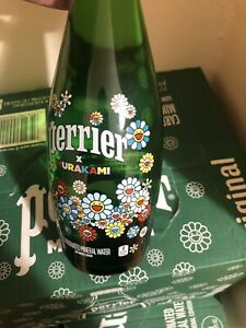 Deals up to 75% off Takashi Murakami Perrier Glass Bottle