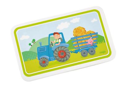 Melamina-tavolette Tavolette Trattore Bambini 302816 Haba-hen Brettchen Traktor Kinder 302816 Haba It-it
