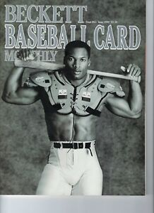Details About Bo Jackson Bo Knows Beckett Baseball Card Monthly June 1990