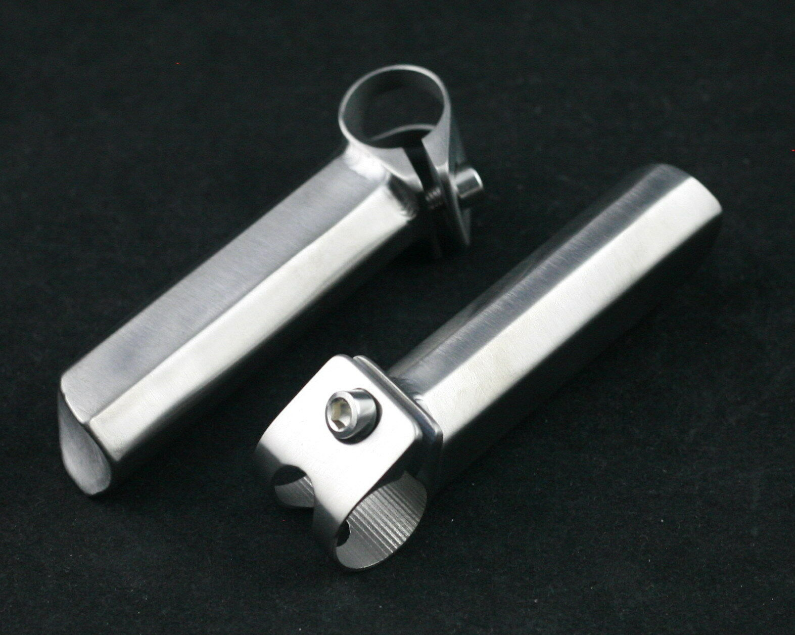 J&L Titanium Bar ends Mountain bike Handle-51g2-120mm