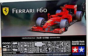 Ferrari-F60-2009-Tamiya-Kit-1-20-20059-con-parti-foto-incise-Nuovo