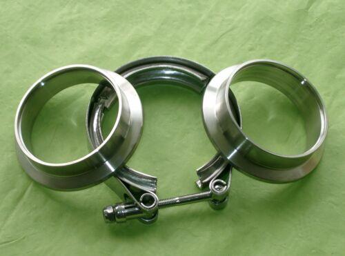 Burstflow V Band Fascetta 63,5mm 2,5 Pollici u 2 Saldatura anelli