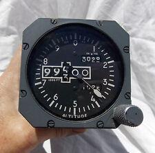 727  737 Airliner Altimeter Indicator Gauge Instrument , NICE