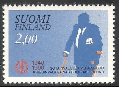 Finland 1990 Disabled Ex-servicemen's Association/Soldiers/Military 1v (n43007)