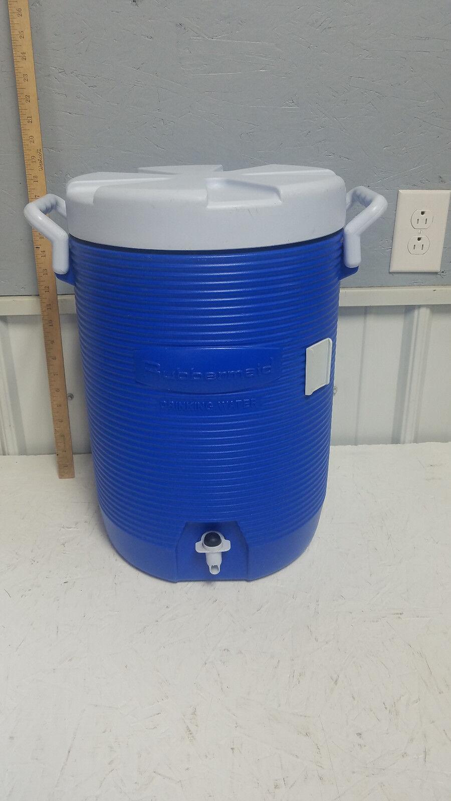 Rubbermaid Gott bluee   White 5 Gallon Water Cooler Model 1685