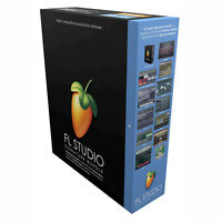 Image Line Fl Studio 12 Fruity Loops Signature Edition Production Software Boxed