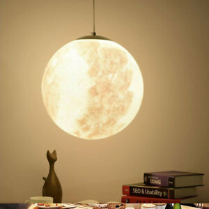 Modern acrylic moon pendant lamp chandelier drop ceiling light home image is loading modern acrylic moon pendant lamp chandelier drop ceiling aloadofball Images