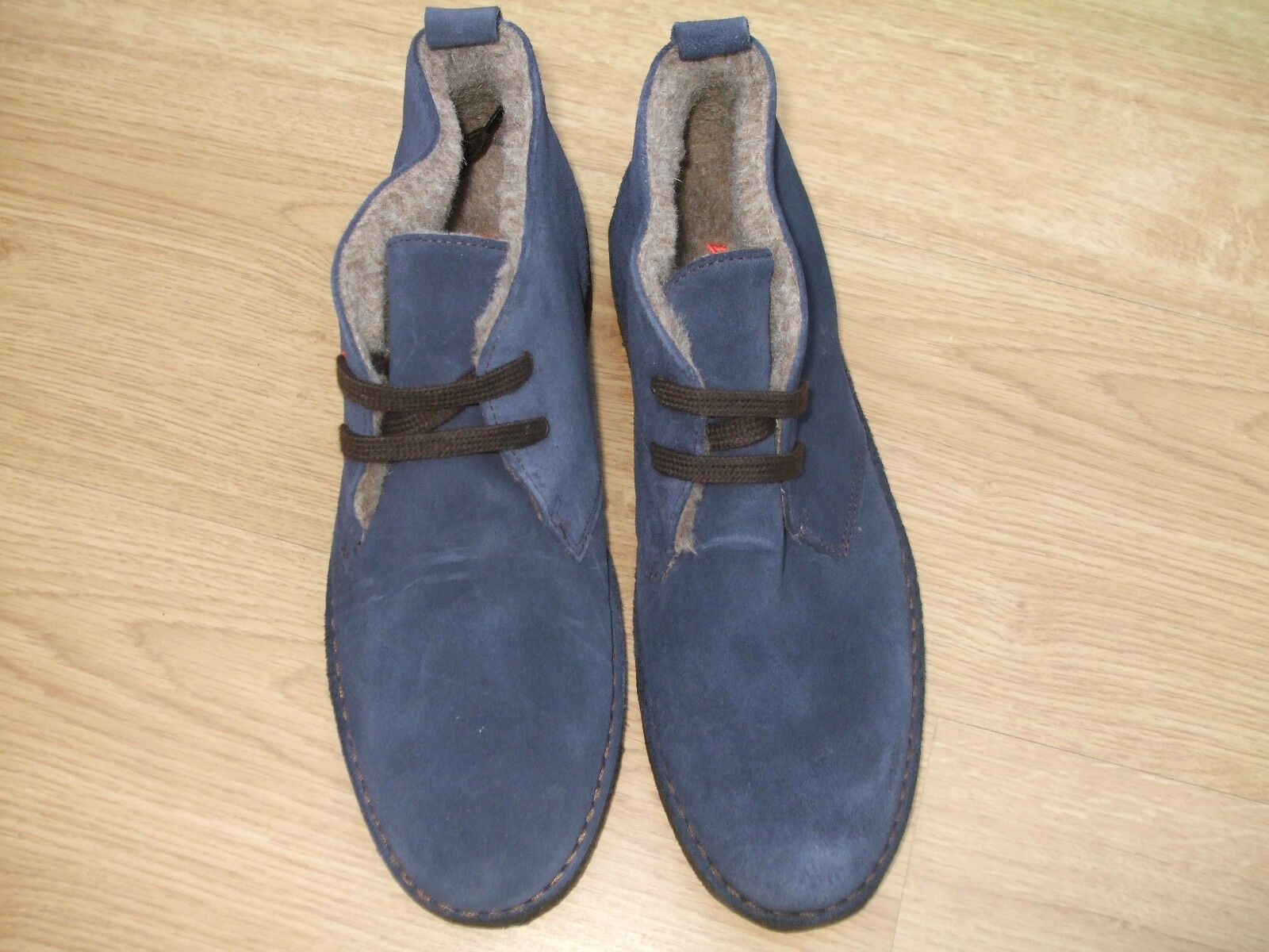 BODEN NAVY  SUEDE LACE UP 40==6.5 ANKLE Stiefel SIZE ==SIZE 40==6.5 UP BNWOB 8f650a