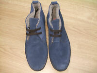 Boden Navy Suede Lace Up Ankle Boots Size ==size 40==6.5 Bnwob