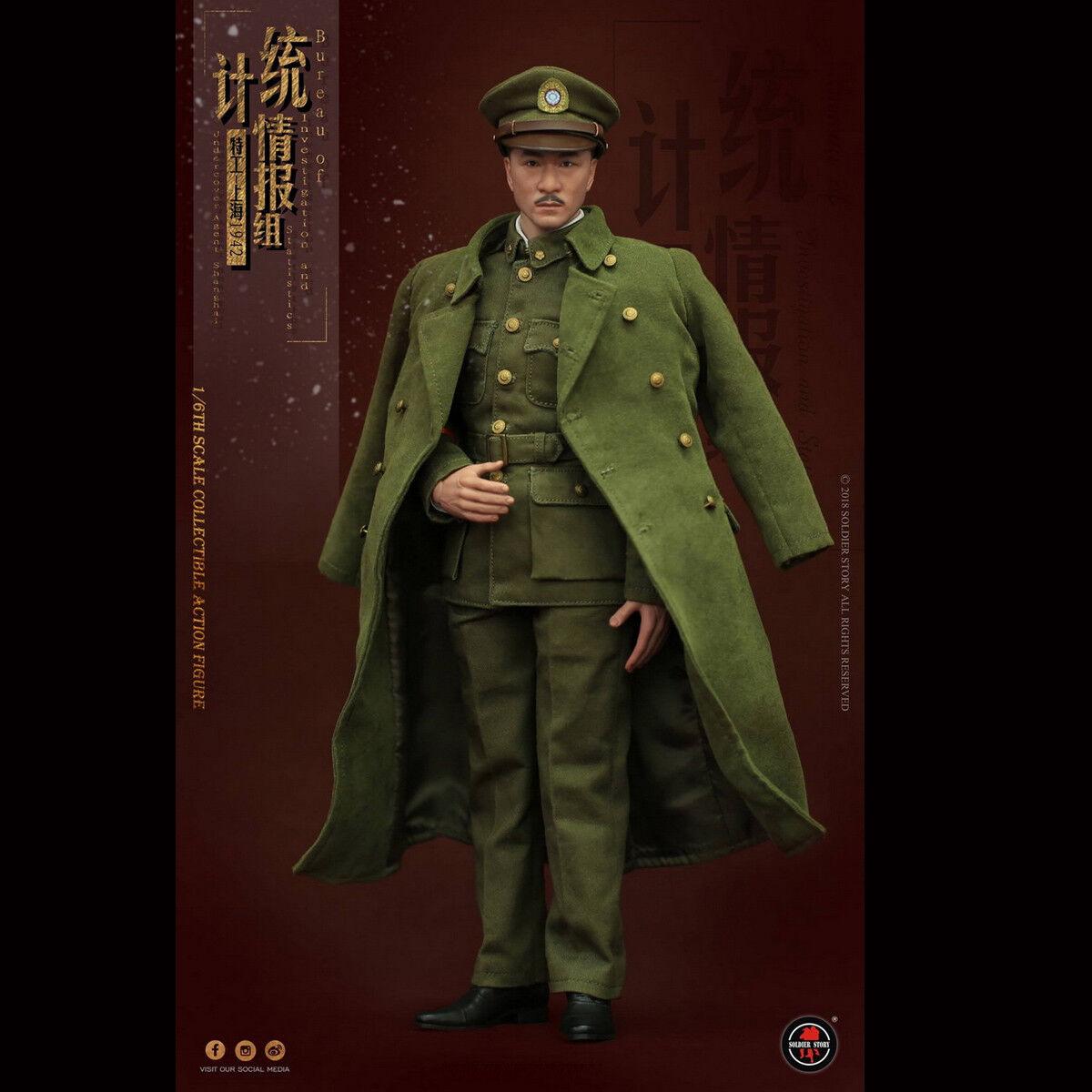 Soldier Story SS113 1 6th bis agente encubierto Shanghai 1942 12  Figura De Acción