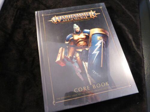 Warhammer scellé Age of Sigmar Core Rules Book 2nd Edition cartonnée de règle