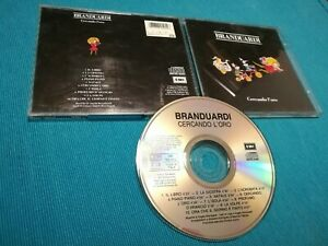 Angelo-Branduardi-Cercando-l-039-Oro-Stampa-Italy-1992-Timbro-Siae-Cd-Ottimo