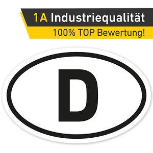 Laenderkennzeichen-D-Aufkleber-Deutschland-Auto-PKW-Sticker