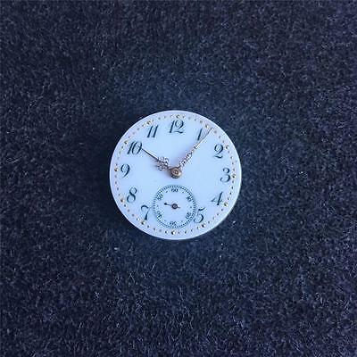 Liberal Vintage 25.6mm Longines Openface Pocketwatch Movement Be Shrewd In Money Matters Pocket Watches Watches, Parts & Accessories