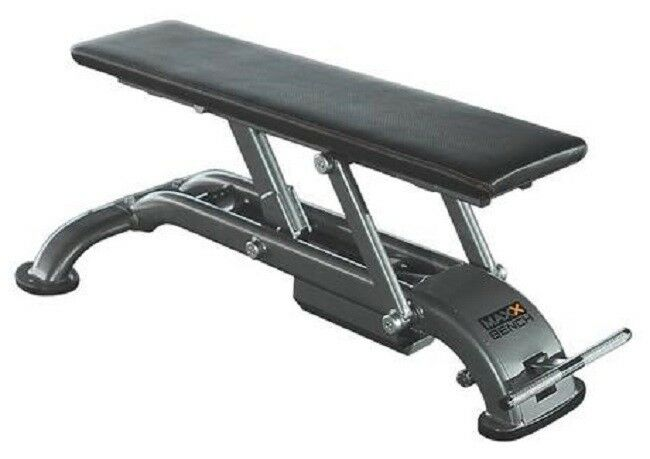 NEW Unified Fitness MAXX BENCH Flat Bench with Wheel Set