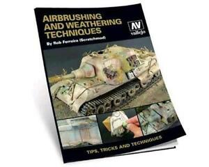VALLEJO AIRBRUSH AND WEATHERING TECHNIQUES BOOK VAL75002 ...