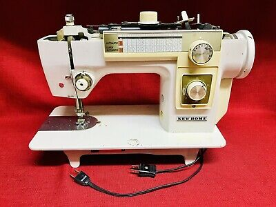 New Home Sewing Machine Model 552 Made By Janome Parts Ebay