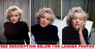MARILYN MONROE 7YEARITCHSUBWAYPANTIES 3xRARE8x10 PHOTOS