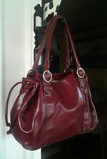 ladies handbags. Beautiful Lightweight Red Tote/ NWOT/