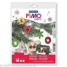 STAEDTLER FIMO SOFT CHRISTMAS STARTER PACK MODELLING CLAY XMAS SET