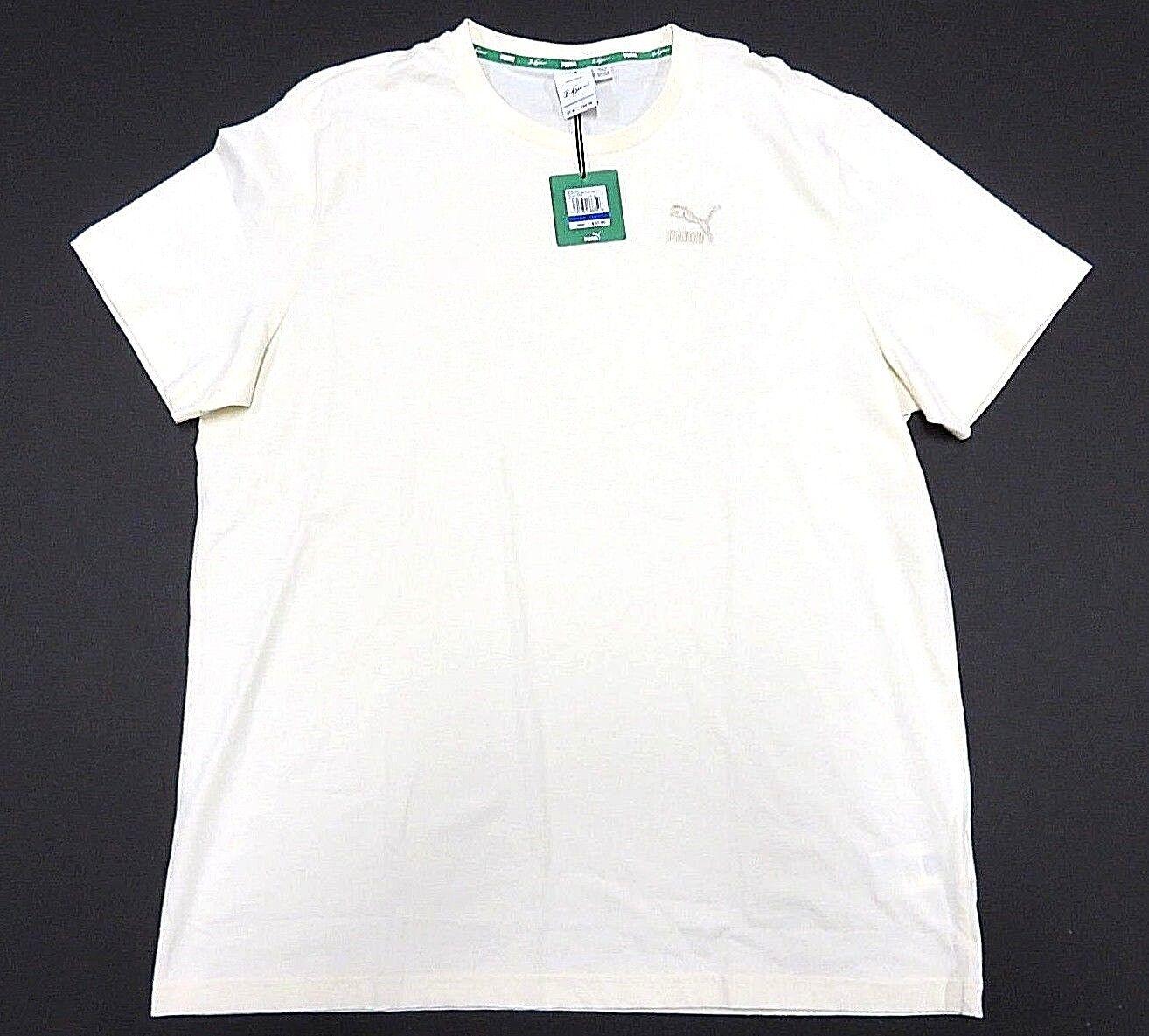 470d7f9c31 NWT PUMA x BIG SEAN Whisper White Graphic Short Sleeve Men's Size X ...