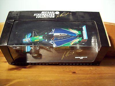 1/18 Michael Schumacher Benetton Ford B194 Bitburger 1994 Campione Del Mondo-mostra Il Titolo Originale Materiali Di Alta Qualità Al 100%