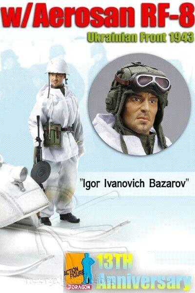 Dragon WWII Igor Ivanovich Bazarov with Aepinkn RF-8 Box Set Dragon DRF70835 New