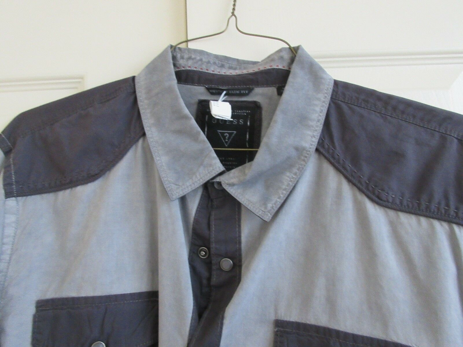 Guess , Size XXL , Western Slim Fit , Long Sleeve Shirt