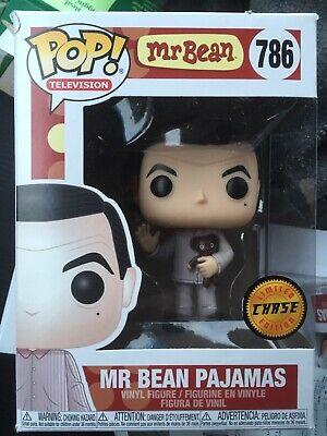 Funko Pop Television Mr Bean Pajamas Pop Chase BNIB