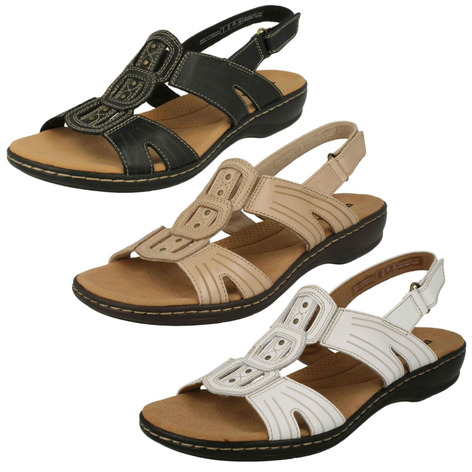 Sandali Donna Donna Sandali Clarks Sandali Cinturino-Leisa Vine 002990