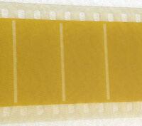 Kodak 35mm Film Leader Framed 3 Perf Yellow Approx 617 Metres 2024 Feet