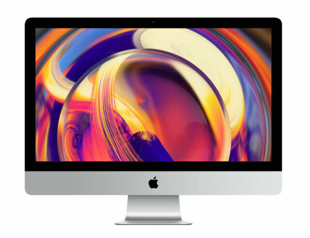 Apple Imac With 27in Retina 5k Display 1tb Fusion Drive Intel Core I5 8th Gen 4 10 Ghz 8gb Gray Mrqy2ll A March 2019 For Sale Online Ebay