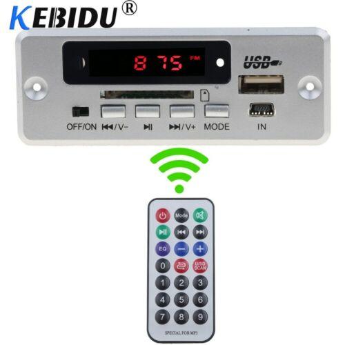 12V//5V Stereo Bluetooth 5.0 Lossless WAV Music Decoder WMA//MP3//FM Speaker Memory