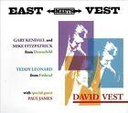East Meets Vest [Digipak] * by David Vest (CD, Nov-2012, Burnside)
