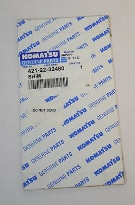 Other Commercial Truck Parts Heavy Equipment Parts & Accessories Straightforward New Oem Genuine Komatsu 421-22-32480 Shim Free Shipping