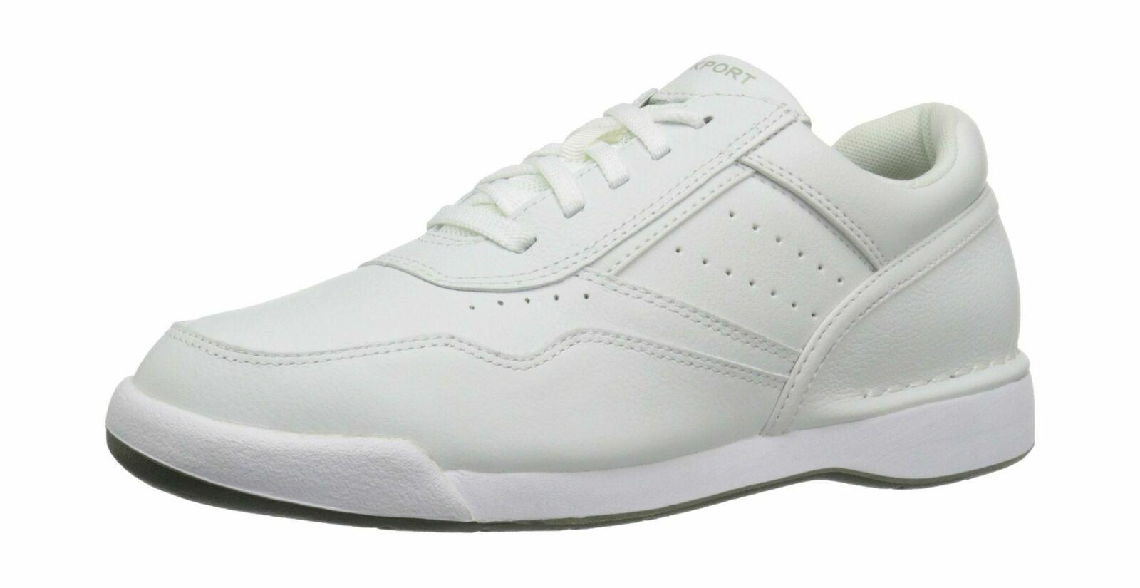 Rockport Rockport Rockport M7100 Prowalker herren UK 8   EU 42 all Weiß leather casual K71098 NEW bc0