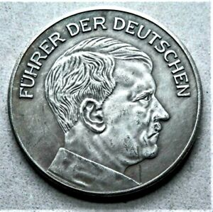 WW2-GERMAN-COMMEMORATIVE-COLLECTORS-REICHSMARK-COIN-039-36